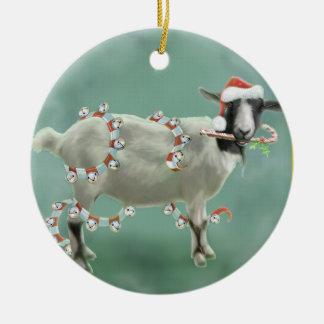 Jada The Goat, Christmas Christmas Ornament
