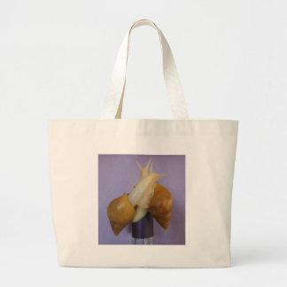 Jadatzi Snail Love Large Tote Bag