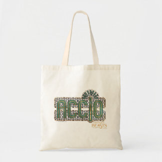 Jade Art Deco Accio Spell Graphic