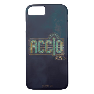 Jade Art Deco Accio Spell Graphic iPhone 8/7 Case