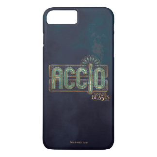 Jade Art Deco Accio Spell Graphic iPhone 8 Plus/7 Plus Case