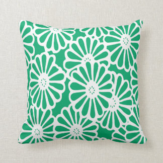 Jade Asian Moods Floral Cushion