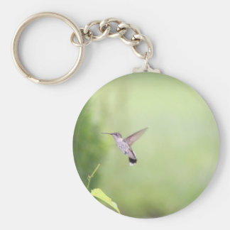 Jade Basic Round Button Key Ring
