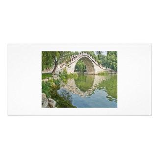 Jade Belt Bridge Personalized Photo Card