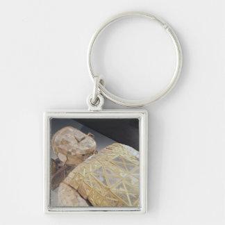 Jade burial suit keychain