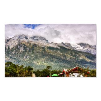 Jade Dragon Snow Mountain Photo Print