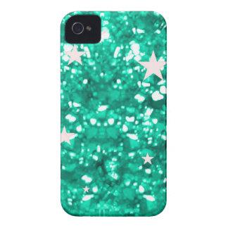 Jade glitter iphone 4 barely case