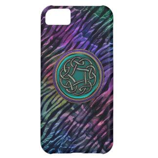 Jade Green Metal Celtic Knot iPhone 5C Case
