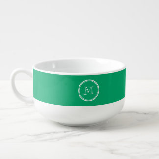 Jade High End Colored Personalized Soup Mug