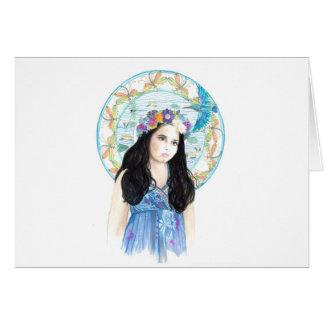 Jade Kingfisher Card