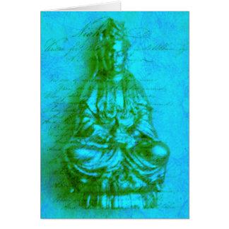 Jade Kwan Yin card