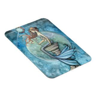 Jade Moon Mermaid Premium Vinyl Magnet