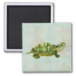 Jade Turtle Magnet