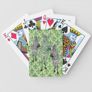 Jade Zebra Shadows Card Deck