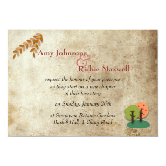 Jaded Fairy Tale Castle Wedding Invitation
