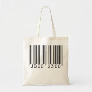 Jaden Barcode Tote Canvas Bags
