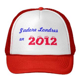 J'adore Londres en 2012 Hats