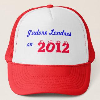 J'adore Londres en 2012 Trucker Hat