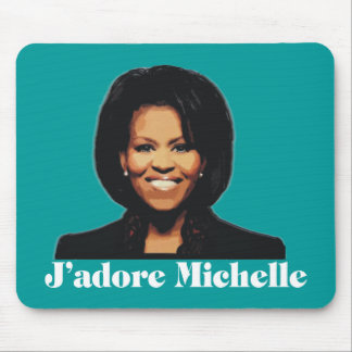 J'adore Michelle Mousepad in Teal Blue