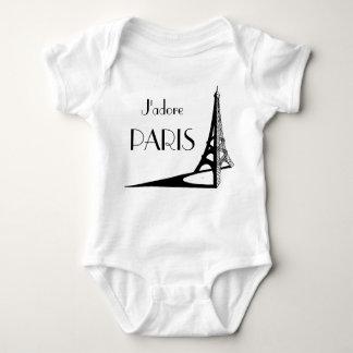 J'adore PARIS infant Baby Bodysuit