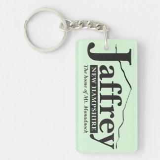Jaffrey, New Hampshire Keychain