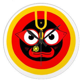 """jagannatha """"Lord of the Universe"""" Wall Clock"""
