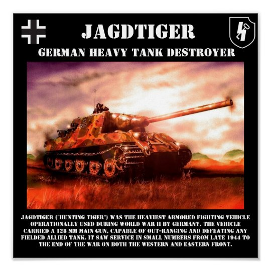 Jagdtiger German Tank Destroyer Print