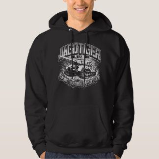 JAGDTIGER Men's Basic Hooded Sweatshirt T-Shirt