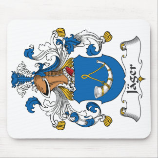 Jager Family Crest Mouse Pad