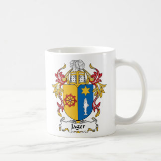 Jager Family Crest Coffee Mug