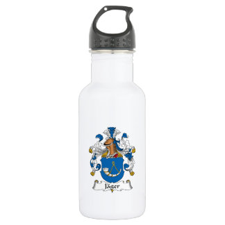 Jager Family Crest 18oz Water Bottle