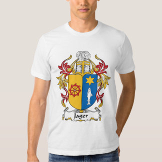 Jager Family Crest Tee Shirts
