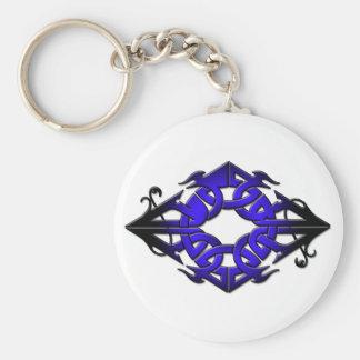 jager basic round button key ring