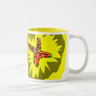 Jagged colour mug