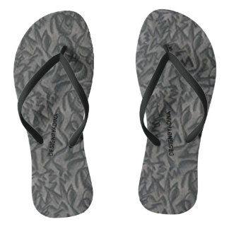 """Jagged Curves"" Abstract Flip Flops"