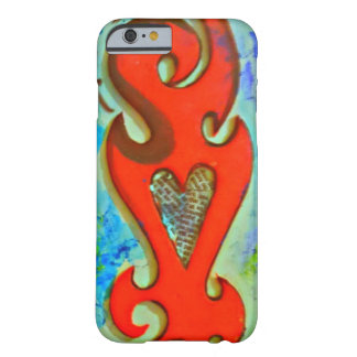 jagged heart barely there iPhone 6 case