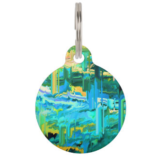 Jaggeed Little Pill-blue Pet Name Tag