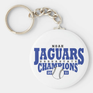 Jags State Champs Keychain