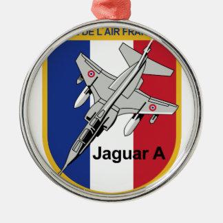Jaguar A Franzosische Luftwaffe Aufnaher Abzeichen Christmas Tree Ornament