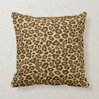 Jaguar Animal Print Cushion