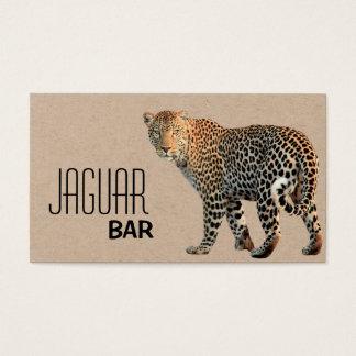 JAGUAR BAR BUSINESS CARD