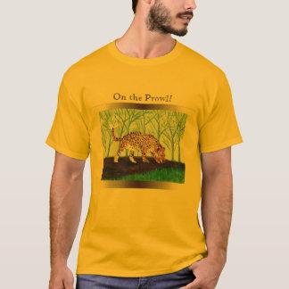 Jaguar Big Cat Artwork T-Shirt