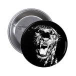 Jaguar - Black Panther Button