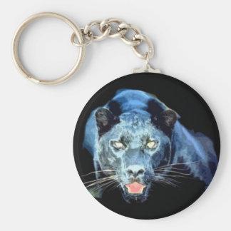 Jaguar - Black Panther Key Ring