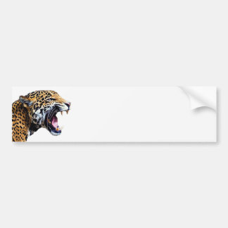 jaguar bumper sticker