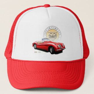 Jaguar Cars xk120 Trucker Hat