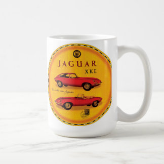 Jaguar cars Xke e-type Coffee Mug
