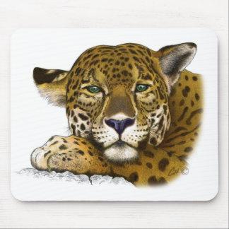Jaguar colored mouse mat