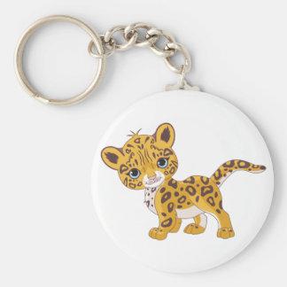 Jaguar Cub Keychain