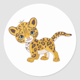 Jaguar Cub Stickers